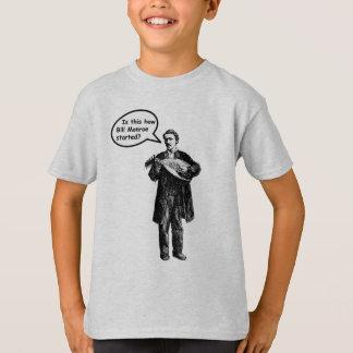 Ist dieses, wie Bill Monroe begann? (Mandoline) T-Shirt