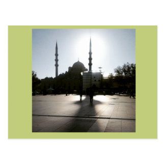 Istanbulgedächtnis, -Sun und -moschee Postkarte