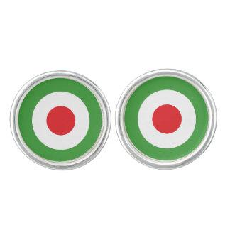 Italien-Italiener-Italien-Flagge Tricolore Entwurf Manschettenknöpfe