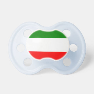 Italien-Italiener-Italien-Flagge Tricolore Entwurf Schnuller