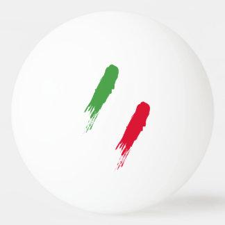 Italien-Italiener-Italien-Flagge Tricolore Entwurf Tischtennis Ball