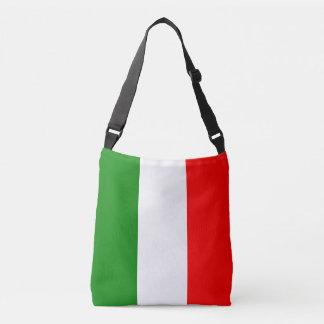 Italien-Italiener-Italien-Flagge Tricolore Entwurf Tragetaschen Mit Langen Trägern