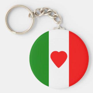 Italien-Italiener-Italien-Flagge Tricolore Schlüsselanhänger