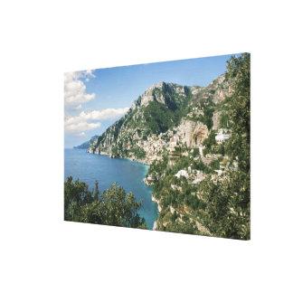 Italien, Kampanien, Sorrentine Halbinsel, Leinwanddruck