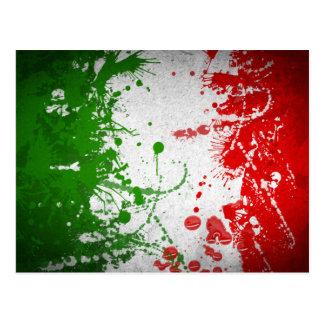Italien-Linie Postkarte