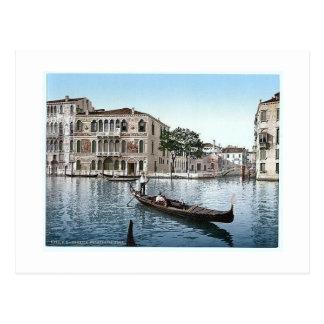 Italien Venedig Palazza DA Mula 1890's Postkarten