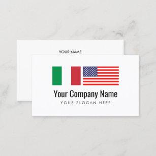 Italienisch Englisch übersetzer Des Visitenkarte Zazzle De