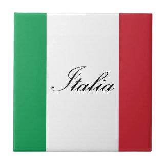 Italienische Flagge - Flagge von Italien - Italien Keramikfliese
