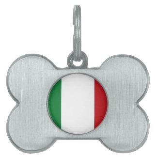 Italienische Flagge Tiermarke