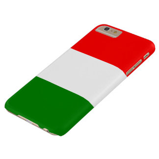 Italienische Flagge von Italien Bandiera d'Italia Barely There iPhone 6 Plus Hülle
