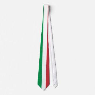 Italienische Flaggenhals-Krawatten Individuelle Krawatte