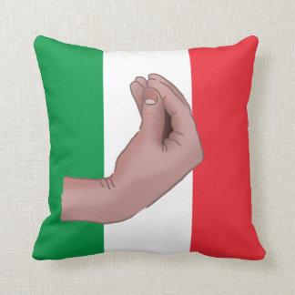 Italienische Hand Meme Kissen