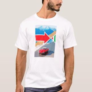Italienischer Job-Jaguar-E-Artiger T - Shirt