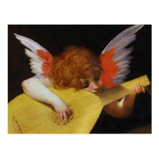 Italienischer Renaissance-Engel Postkarte
