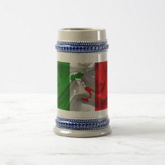 Italienischer Stiefel Bierkrug
