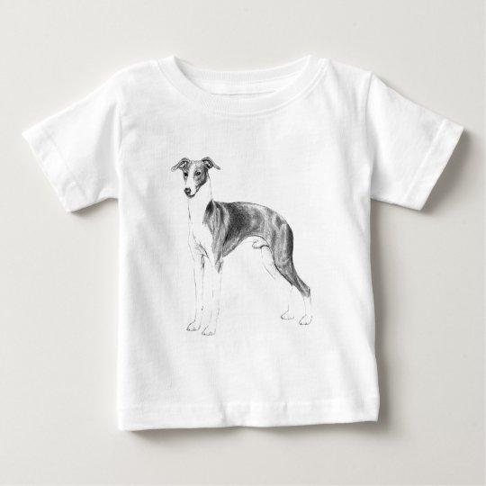 Italienischer Windhund-Art Baby T-shirt