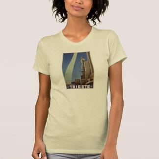 Italienisches Reiseplakat Vintager T-Shirt