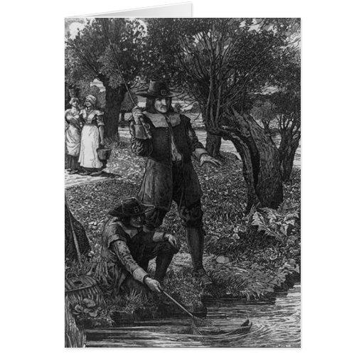 Izaak Walton und sein Gelehrter Karten