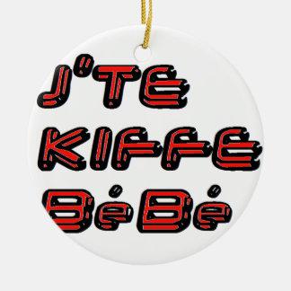 J TE KIFFE BEBE png Ornamente