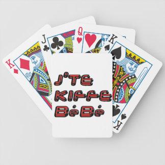 J TE KIFFE BEBE png Pokerkarten