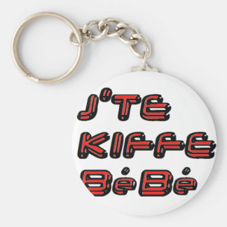 J TE KIFFE BEBE.png Schlüsselbänder