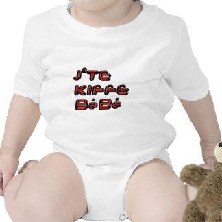 J TE KIFFE BEBE.png Baby Strampelanzug