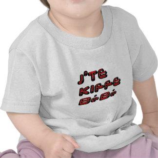 J TE KIFFE BEBE.png Tshirt
