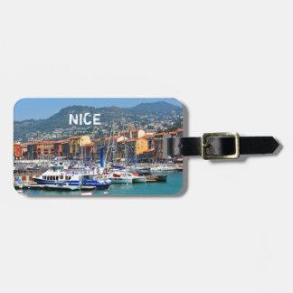 Jachthafen in Nizza, Frankreich Gepäckanhänger