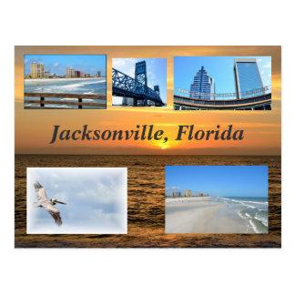 Jacksonville, Florida Postkarte