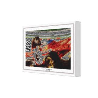 JACKY's MONOPOSTO 1972  Artwork Jean-Louis Glineur Gespannter Galerie Druck
