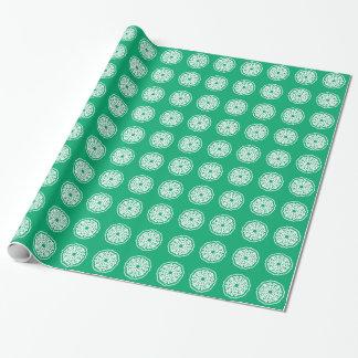 Jade-asiatische Stimmungen Mandalla Geschenkpapier