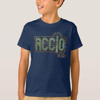 Jade-Kunst-Deko Accio Bann-Grafik T-Shirt