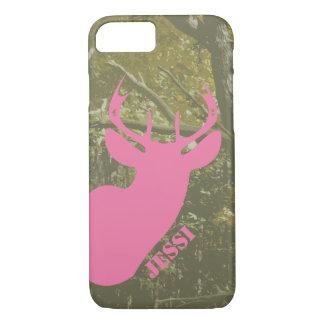 Jagd-Camouflage u. rosa Rotwild gehen iPhone 6 iPhone 8/7 Hülle