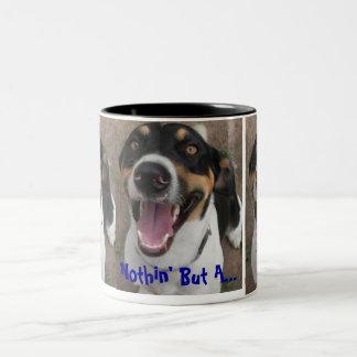 Jagdhund-HundeTassen Zweifarbige Tasse