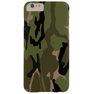 Jäger-Grün-Camouflage Barely There iPhone 6 Plus Hülle