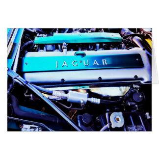 Jaguar-Motor Karte
