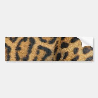 Jaguar-Muster-Autoaufkleber Autoaufkleber
