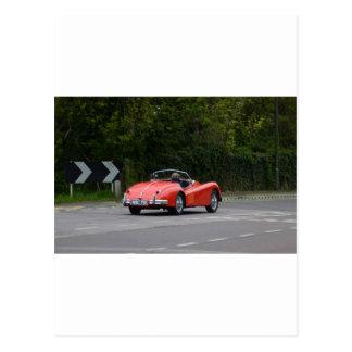 Jaguar XK140 Postkarte