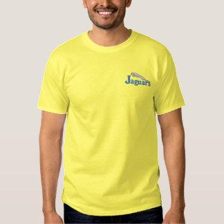 Jaguare Besticktes T-Shirt