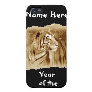Jahr des Tiger-Besonders anfertigen Namens iPhone 5 Hüllen