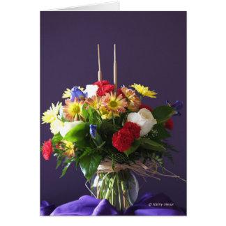 Jahrestags-Wunsch für Mamma und Vati Grußkarte