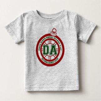 Jahresurlaubs-Schalen-Baby-T-Stück Daves Ahern Baby T-shirt