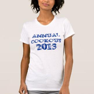 Jährlicher Cookoutbehälter 2013 T-Shirt
