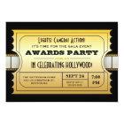 Jährlicher Film spricht Party goldene Karte zu
