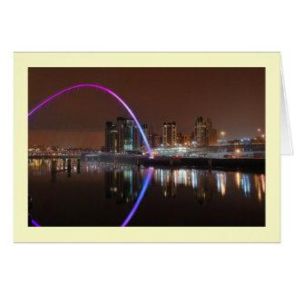 Jahrtausend-Brücke, Gateshead Karte