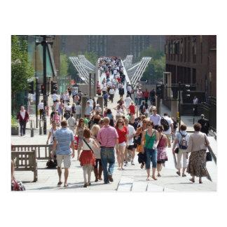 Jahrtausend-Brücke, London Postkarte