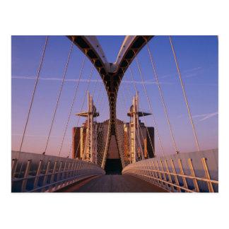 Jahrtausend-Brücke, Lowry Mitte, Salford Postkarte