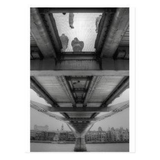 Jahrtausend-Brücke Postkarte