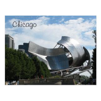 Jahrtausend-Park Chicago Postkarte
