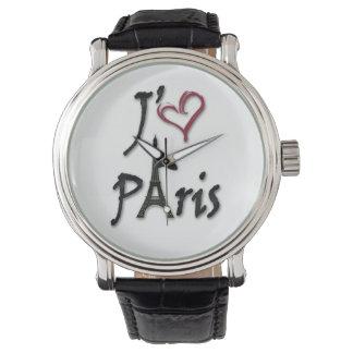 j'aime Paris Armbanduhr